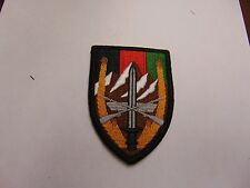 MILITARY PATCH US ARMY COMBINED COMMAND AFGHANISTAN MOUNTAINS COLOR VELCRO BACK
