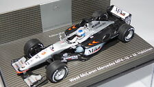 MINICHAMPS WEST McLAREN MERCEDES MP4/16 MIKA HAKKINEN 2001 MINT