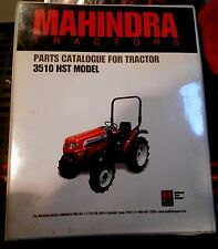 Mahindra Tractor Parts Catalog 3510 HST Models Manual