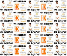 Personalised Gift Wrapping Paper Music ONE DIRECTION NIALL Birthday 2015