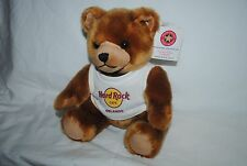 Hard Rock Cafe Orlando, plush Herrington Teddy Bear, with tag, NICE