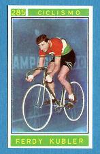 Figurina/Sticker CAMPIONI DELLO SPORT 1967/68-n.285 - F. KUBLER - CICLISMO -rec