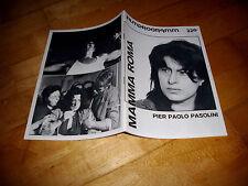 Filmprogramm Nr. 220  Mamma Roma von Pier Paolo Pascolini mit Anna Magnani