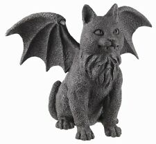 WINGED CAT GARGOYLE GUARDIAN STATUE.GOTHIC STYLE DECOR FIGURINE COLLECTIBLE GIFT