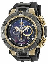 New Mens Invicta 18177 Subaqua NOMA V Chronograph Black Rubber Strap Watch