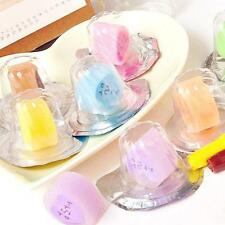 2016 Children Cute Pudding Jelly Type Rubber Pencil Eraser Stationery Cleaner
