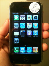 Apple iPhone 3G 8GB WIFI Unlocked Phone AT&T,Tmobile B STOCK CONDITION 011