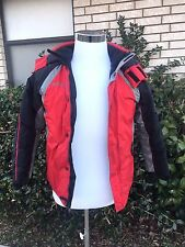 Boy  Columbia Winter Jacket Size 10-12- Red and Black