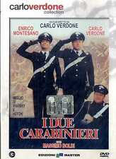 I DUE CARABINIERI Carlo Verdone Enrico Montesano DVD FILM SEALED Edit.