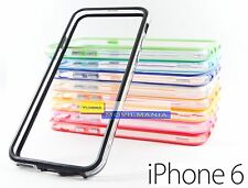 Bumper TRANSPARENTE para APPLE IPHONE 6 - 4,7 pulgadas - funda carcasa tpu gel