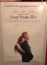 Original Movie Poster Away From Her Double Sided 27x40