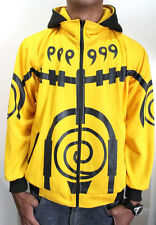 NARUTO YELLOW BIJUU ULTIMATE JACKET HOODIE COSPLAY