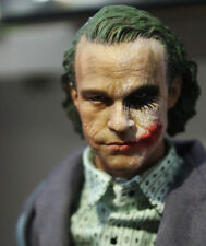 Custom Heath Ledger Joker Two Face 1/6 Head Sculpt For HotToys DX11