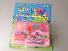 #90S Rare Galoob Tiny Troll Town  Playset NIB MARKET PICCOLO MERCATO
