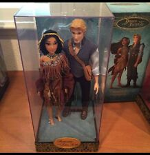 Disney Designer Doll Collection Pocahontas And John Smith NIB Limited Edition