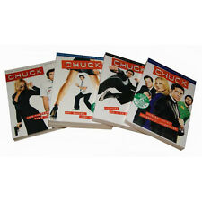 CHUCK ~ Complete Season 1-4 (1 2 3 & 4) ~ BRAND NEW DVD SETS