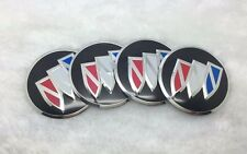 4PCS 56mm For buick Wheel Center Hub Caps Badge Emblem Black sticker