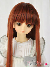 """(50% Off)【NC-M07】7~8"""" Heat-Proof Straight Wigs(MSD/AR/VMF50) # Carrot Red"""