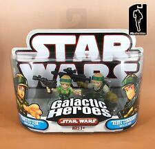 Star Wars Galactic Heroes PRINCESS LEIA ENDOR & REBEL COMMANDO 2-pack