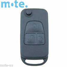 Mercedes-Benz 3 Button Remote Flip Key Blank Replacement Shell/Case/Enclosure