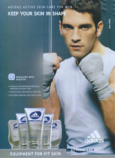 "Adidas Active Skincare ""Keep Your Skin In Shape"" 2004 Magazine Advert"