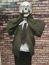 Halloween Prop Animatronic Haunted House Spirit Decor Animated Skeleton 66 inchs