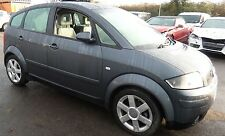 AUDI A2 1.4 BBY Engine code 2004 breaking all parts available dolphin grey LX7Z