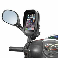 Roller Halterung iPhone Smartphone mit Tasche Blendschutz Spiegelbefestigung
