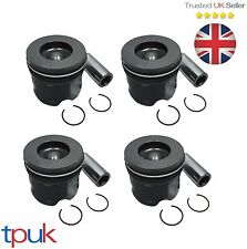 FORD TRANSIT PISTON 2.4 MK6 RWD 2000 - 2006 125PS ON RINGS & PIN PER 4 PISTONS