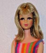 FRANCIE Blonde Barbie cousin vintage bend leg doll all original makeup so lovely