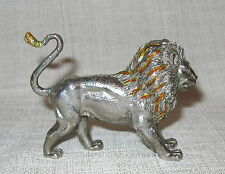 Tiffany Gene Moore Sterling Silver and Enamel Lion