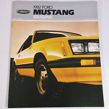 VTG 1982 Ford Mustang 19 Page Car Dealer Showroom Sales Brochure Catalog