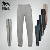 Mens Branded Lonsdale Jog Pants Tracksuit Bottoms Size S M L XL XXL XXXL