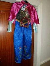 Brand new with tags RRP £15 5-6 years girls Anna Frozen fancy dress costume