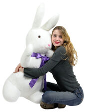 American Made Giant Stuffed Bunny 42 Inches Soft Big Plush Easter Rabbit