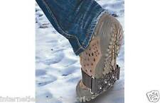 STUDDED SNOW & ICE SHOE GRIPS - 2 Per Pack