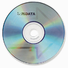 600 RIDATA Brand 52X Logo Blank CD-R CDR Disc Media 80Min 700MB