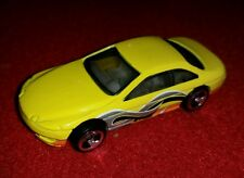 HOT WHEELS LEXUS SC400 COUPE SEEIN' 3-D SERIES YELLOW