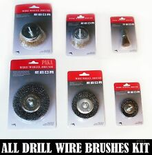 All Drill Wire Wheel & Cup Brush kit