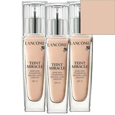NEW Lancome Teint Miracle Foundation 010 Porcelaine SPF15 30ml for women