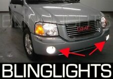 2002-2009 GMC Envoy Halo Fog Lamps Angel Eye Driving Lights Kit + Harness