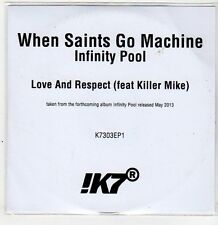 (ER381) When Saints Go Machine, Love & Respect - 2013 DJ CD
