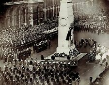 1930 Vintage Photo Royal Family at Cenotaph during Armistice Day Parade London