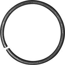 10x O 140 mm Zierelement, Zierring Ring aus 12x6 mm für Zäune und Geländer, Zaun