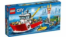 60109 FIRE BOAT lego NEW town CITY legos set firemen SEALED