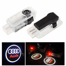 2pcs Car LED Logo Ghost Shadow Welcome Projector Light For Audi A4 A4L A6 A8 Q7