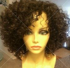 8A grade Brazilian Human hair Deep Wave curly short bob in natural colour 1B