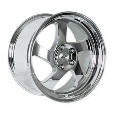 16x8 Whistler KR1 4x100 +20 Chrome Wheels (Set of 4)