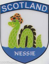 Scotland Loch Ness Monster Nessie Flag Vinyl Car Window Sticker