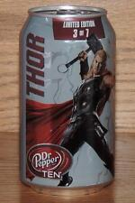 "2015 USA DR PEPPER TEN MARVEL AVENGERS AGE of ULTRON ""THOR"" 12oz 355mL FULL CAN"